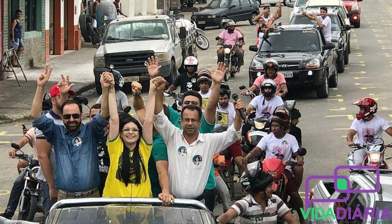 Candidato do time de Bolsonaro, Gonzaga, cumprirá uma intensa agenda de campanha em diversas cidades do extremo sul da Bahia; confira!