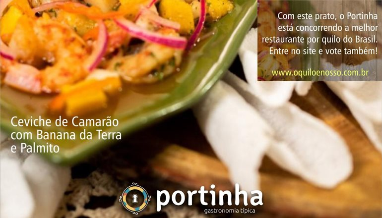 Grande orgulho: Portinha de Arraial D'ajuda concorre como melhor restaurante a quilo do Brasil; entre no site e vote!