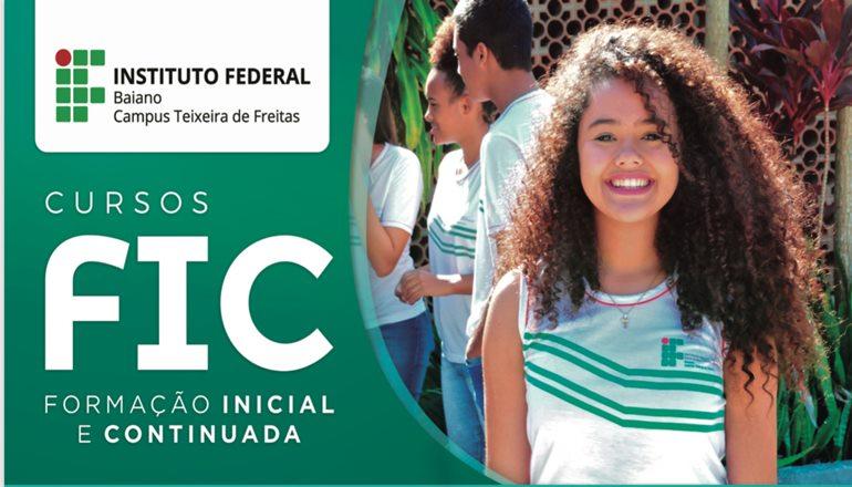IF Baiano está com matrículas abertas para os cursos de Formação Inicial e Continuada (FIC); será nesta terça e quarta, matricule-se já!