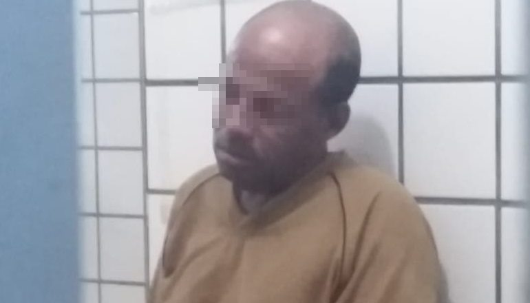 Suspeito de furtar Biz no Tancredo Neves é preso e tenta se matar na delegacia em Teixeira
