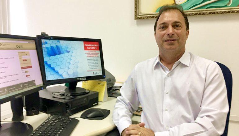 O juiz Marcus Aurélius Sampaio retorna à Justiça Eleitoral de Teixeira de Freitas