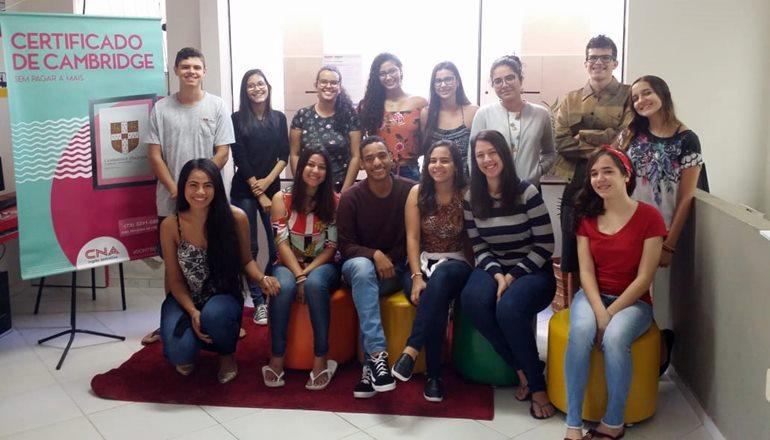 CNA realiza Exame de Certificação Internacional da Universidade de Cambridge para os seus alunos em Teixeira de Freitas