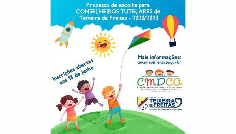 Lançado o edital para seleção de conselheiros tutelares em Teixeira de Freitas