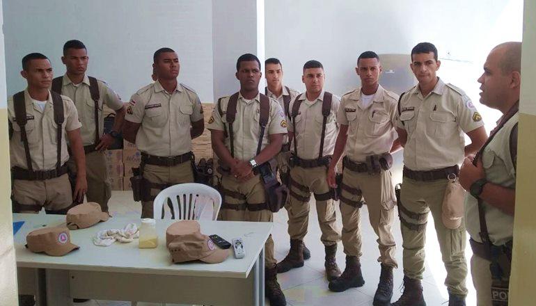 As cidades de Mucuri e Nova Viçosa ganharam o reforço de 15 novos policiais militares