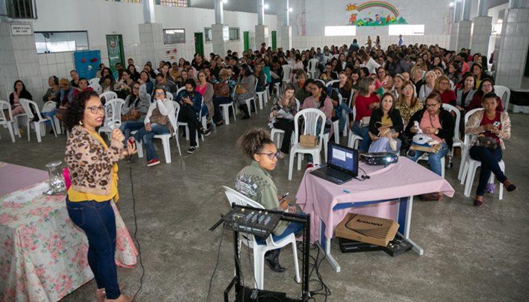 SEPEX Itinerante é realizado com participação de professores municipais de 1º ao 5º ano do Ensino Fundamental em Teixeira