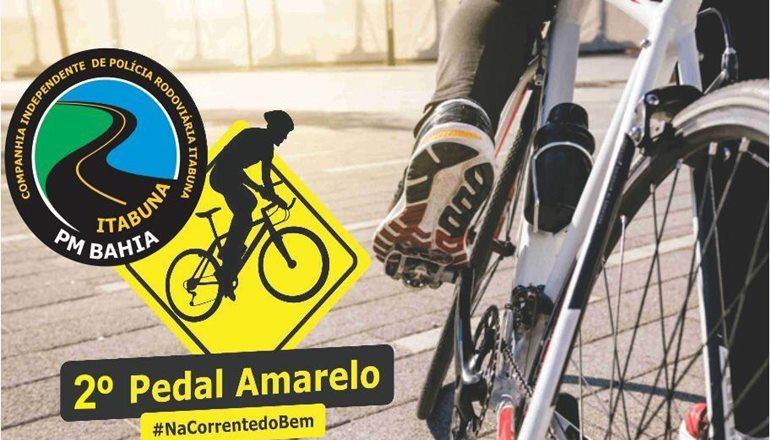 Polícia Rodoviária Estadual e parceiros promoverão o 2º Pedal Amarelo em Teixeira de Freitas