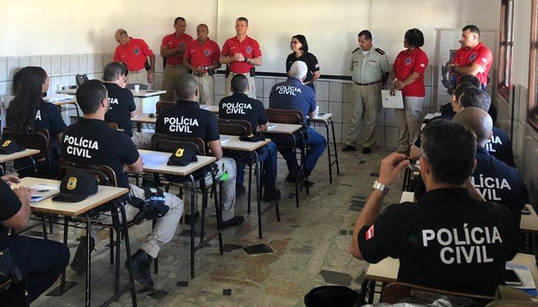 Foi dado início ao Estágio de Práticas Policiais (EPP) da 8ª COORPIN, em Teixeira de Freitas