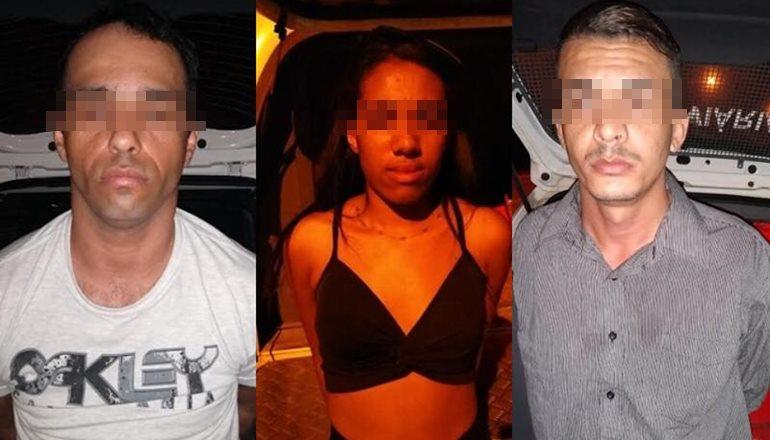 Após sequestro de dois empresários em Teixeira, trio de criminosos foi preso em Minas Gerais