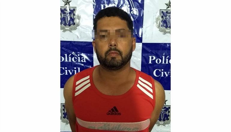 Polícia Civil prende fugitivo acusado de matar a própria companheira em Jucuruçu; o mesmo foi preso no bairro Nova América, em Teixeira
