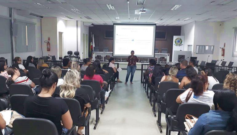 Secretaria de Saúde realiza mais um treinamento para Agentes Comunitários de Saúde