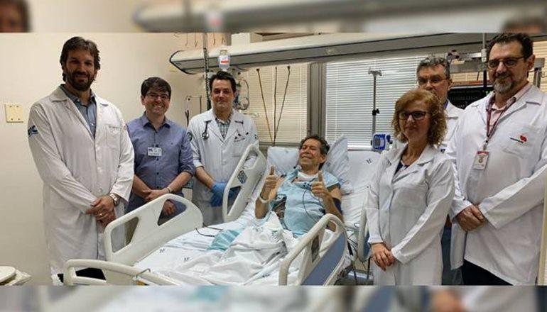 Brasileiro com câncer terminal apresenta melhora após tratamento inovador