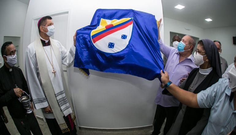 Bispo Dom Antônio Elizeu Zuqueto é homenageado na unidade que será a nova UMMI