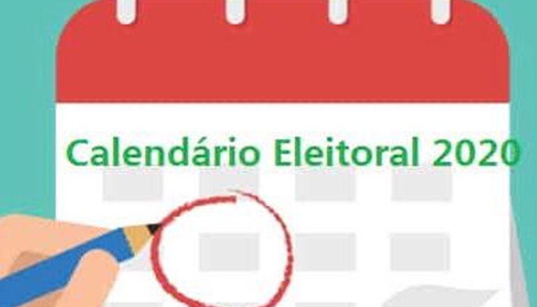 Fique atento ao calendário das eleições 2020; confira!