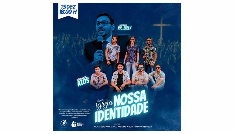 Participe: culto festivo celebra 1 ano de emancipação da Igreja Batista Cidade Nova