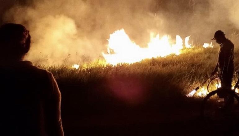 18º GBM reforça os cuidados com as queimadas em Teixeira e região; ato de queimar é criminoso e pode gerar multas e reclusão