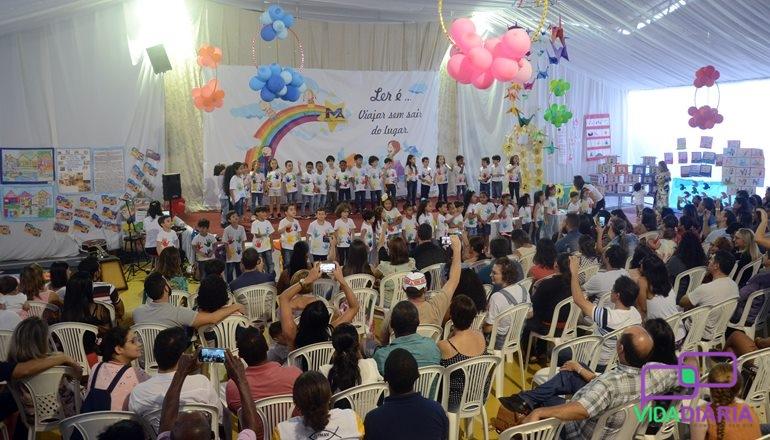 Colégio Miguel Afonso promove evento de leitura com seus alunos: dois grandiosos Projetos Literários foram apresentados