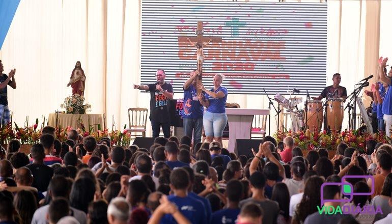 Curas, testemunhos e muita oração, assim foram os 04 dias do Rebanhão de Carnaval em Teixeira de Freitas