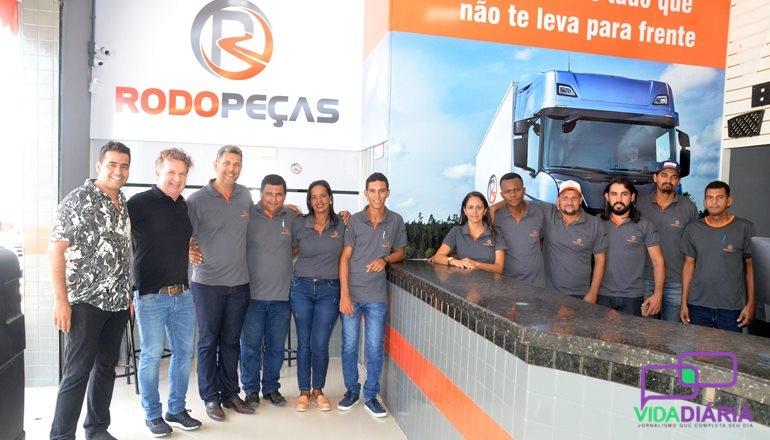 A Rodopeças é inaugurada em Teixeira de Freitas, sendo a primeira loja na Bahia