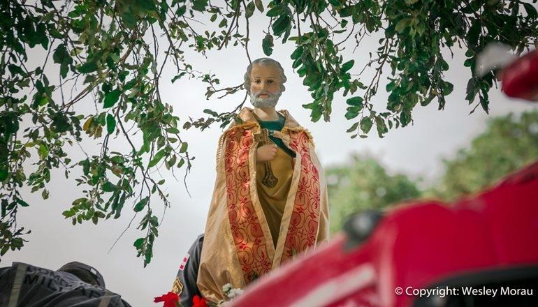 Homenagens ao padroeiro da cidade de Teixeira ganha carreata e transmissão online